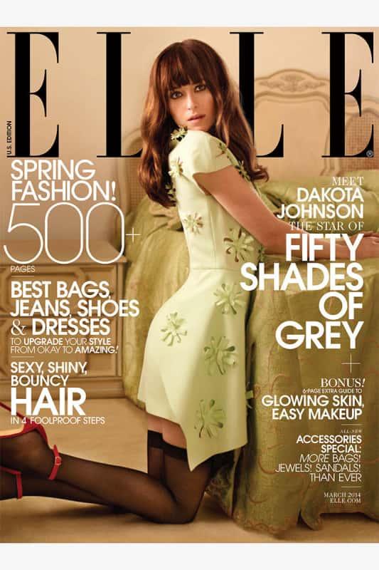 Dakota Johnson Covers Elle