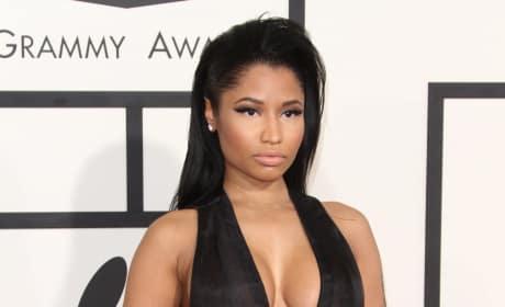 Nicki Minaj at the 2015 Grammys