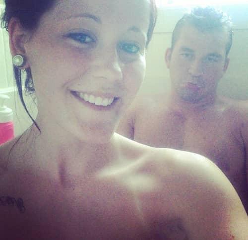 Jenelle Evans Shower Selfie