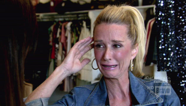 Kim Richards Crying