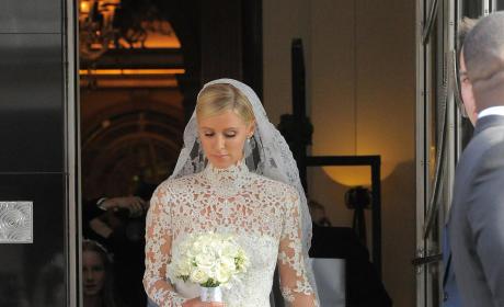 Nicky Hilton's Valentino Wedding Gown