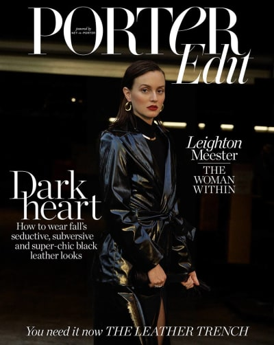 Leighton Meester Magazine Cover