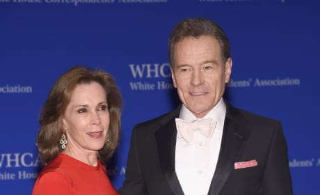 Bryan Cranston and Robin Dearden at the 2016 White House Correspondents Dinner