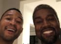 "Kanye West and John Legend Hang Out, Will ""Agree to Disagree"""