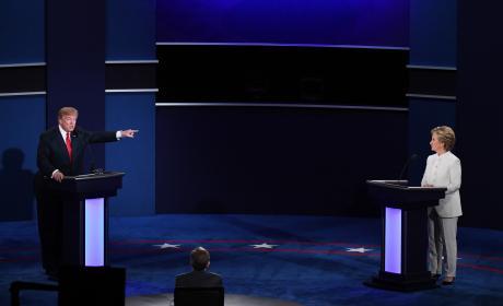 Donald Trump Versus Hillary Clinton