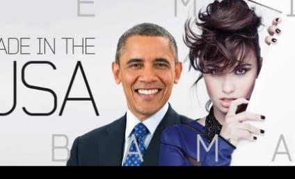 Barack Obama Covers Demi Lovato: Lip Dub Style!