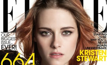 Kristen Stewart Covers Elle, Will Never Smile in Public