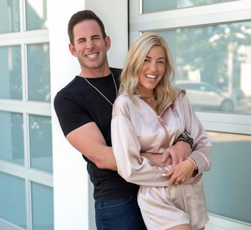 Tarek El Moussa and Heather Rae Young Photo
