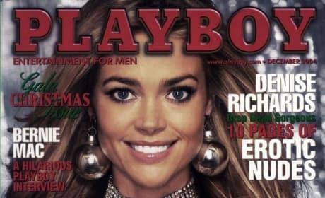 Denise Richards Playboy Cover