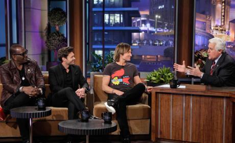American Idol Team on Tonight Show