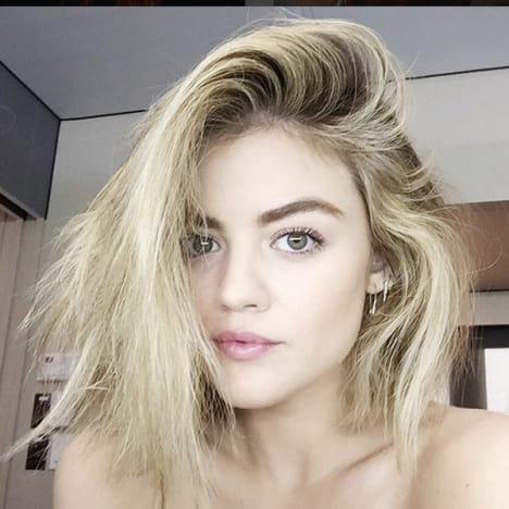 Lucy Hale, Blonde Hair