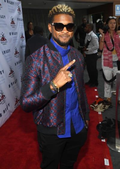 Usher is #1!