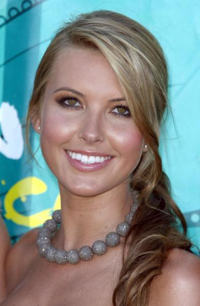 Audrina at the TCA
