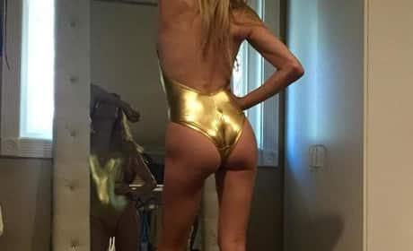 Brandi Glanville Butt Photo
