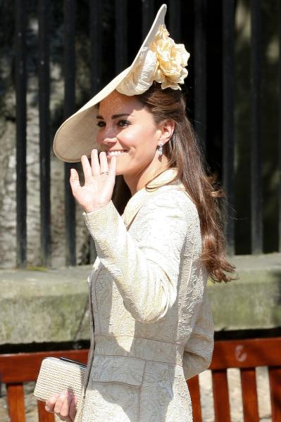 Kate Middleton, Big Hat