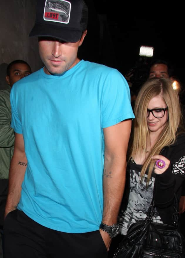 Brody Jenner, Avril Lavigne, Tattoo
