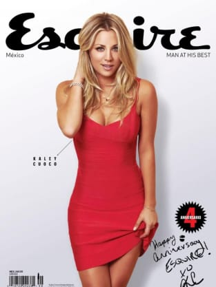 Kaley Cuoco Esquire Cover