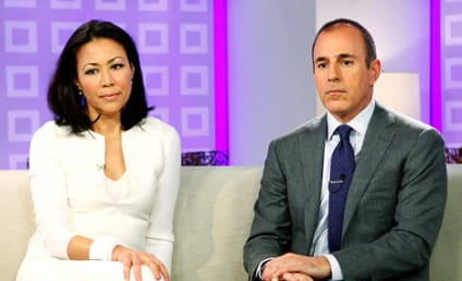 Ann Curry to Matt Lauer: SHUT UP!
