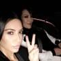 Kim Kardashian Selfie in 2017