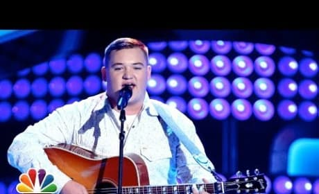 "Jake Worthington: ""Don't Close Your Eyes"" (The Voice Audition)"