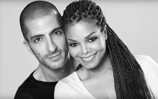 Wissam Al Mana and Janet Jackson Photo