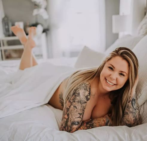 Kailyn Lowry Desnuda en la Cama