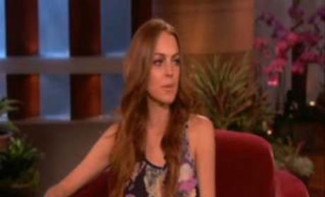 Lindsay on Ellen