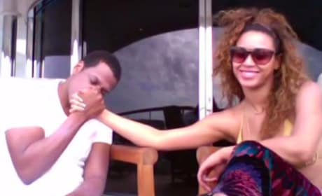 Beyonce and Jay Z Throwback