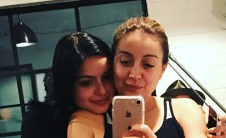 Ariel Winter and Sister