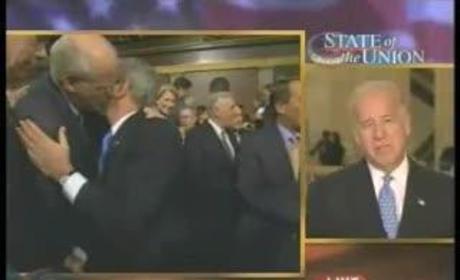 Bush, Shays Kiss