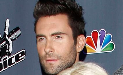 Adam Levine on Christina Aguilera Weight Gain: Leave Her Alone!