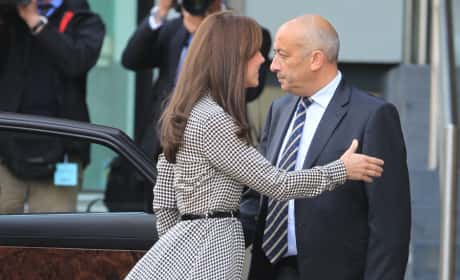 Kate Middleton Thigh Flash