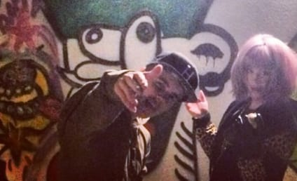 Kelly Osbourne and Justin Bieber Randomly Team Up for Night of Graffiti
