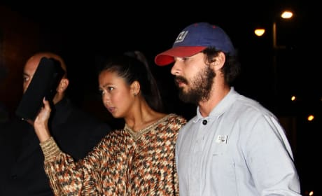 Shia LaBeouf and Karolyn Pho