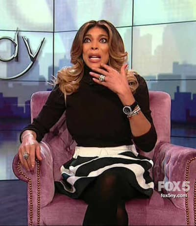 Wendy Williams is Aghast