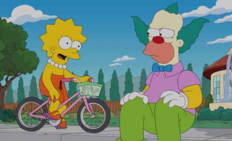 Krusty and Lisa