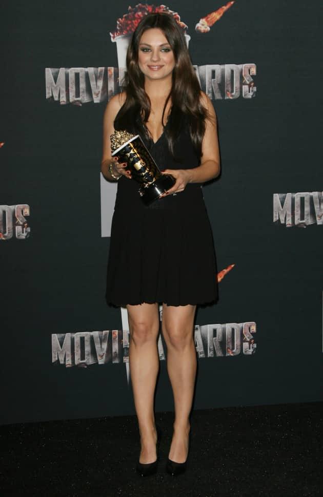 Mila Kunis MTV Movie Awards Image