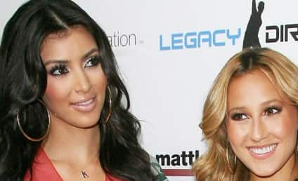 Adrienne Bailon Fires Back at Kim Kardashian, Indirectly References Sex Tape