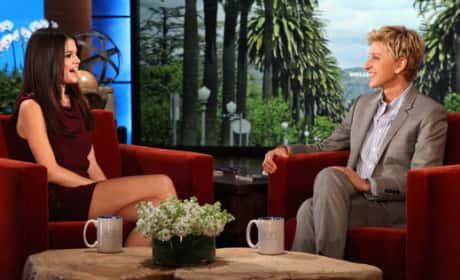 Selena on Ellen