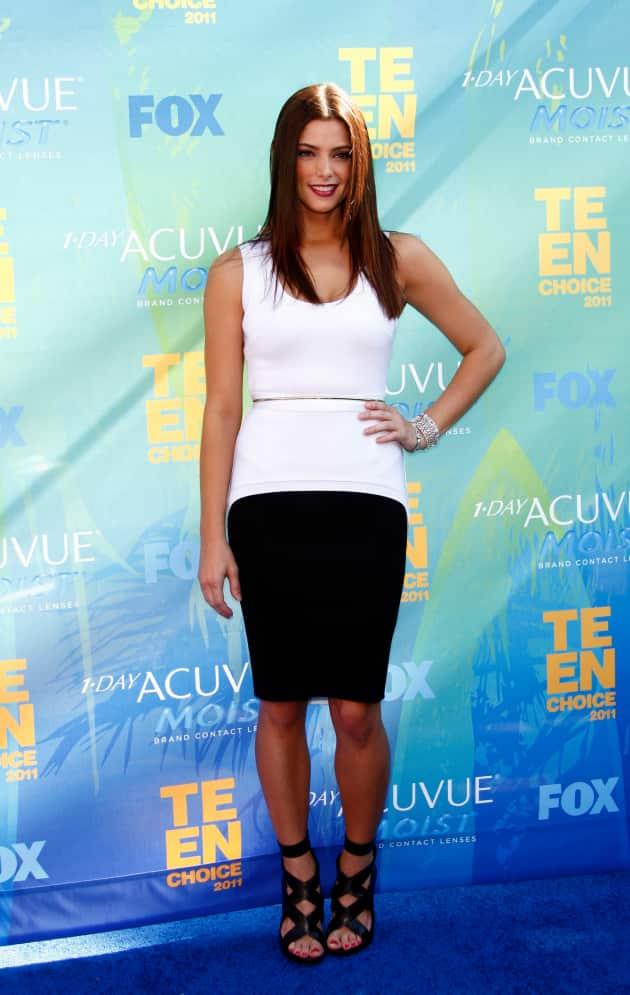 Ashley Greene at the TCAs