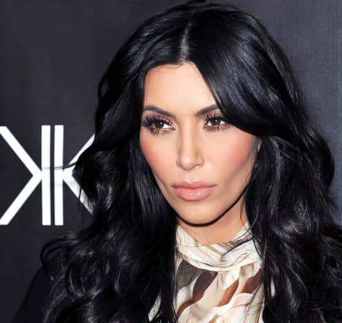 Kim Kardashian Down Under