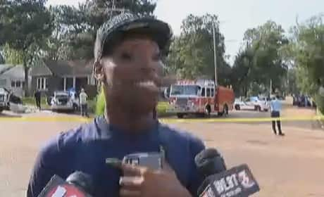 Eyewitness gives HILARIOUS Account of Police Chase