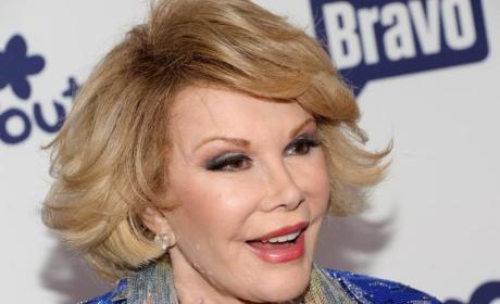 Joan Rivers: Celebrities Tweet Thoughts, Prayers