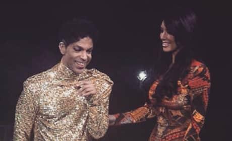 Prince and Kim Kardashian