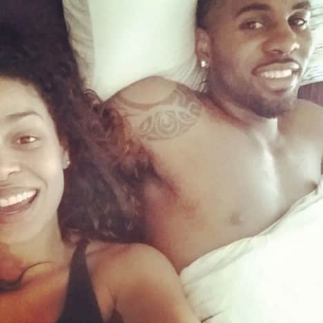 Jordin Sparks and Jason Derulo Selfie