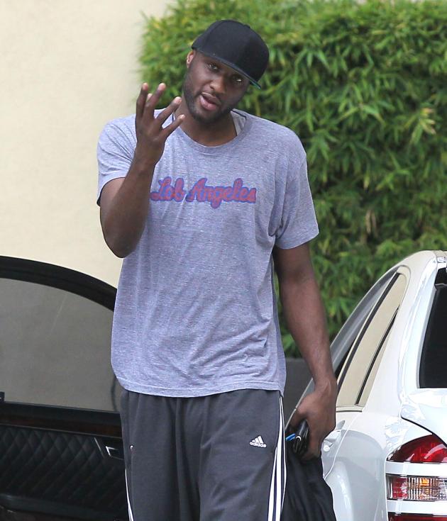 Angry Lamar Odom
