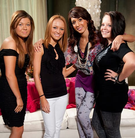 Teen mom cast photo