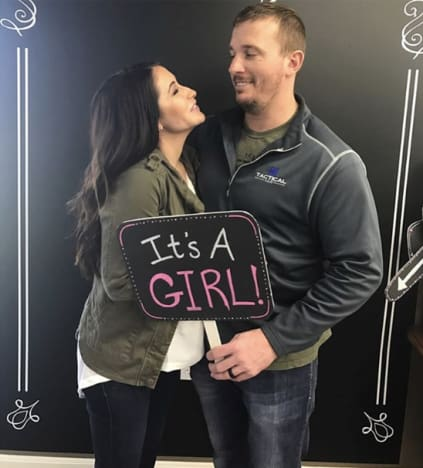 Bristol Palin and Dakota Meyer Gender Reveal
