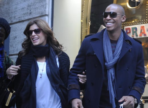Elisabetta Canalis and Mehcad Brooks
