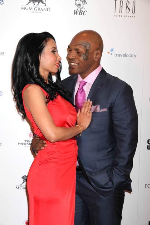 Mike Tyson, Wife